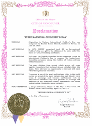 ChildrensFestivalProclamation