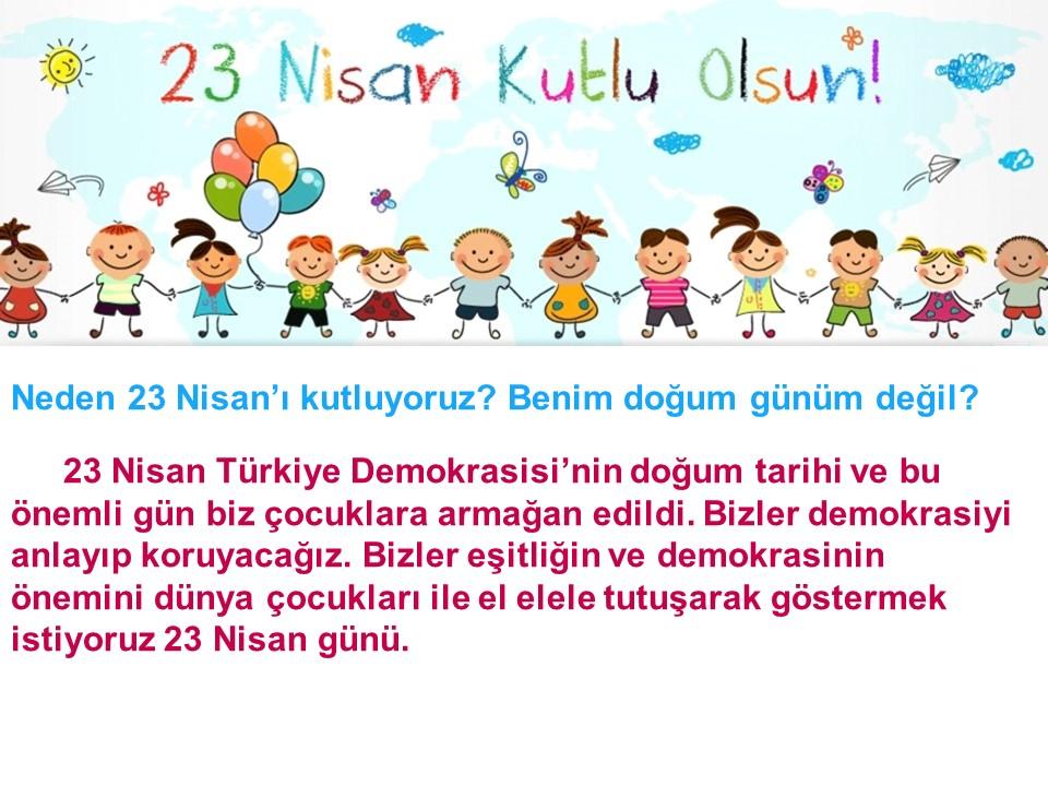 23 Nisan Mini Quiz Turkce