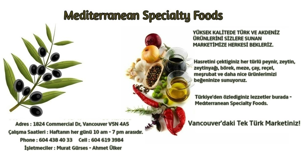 Mediterranean Speciality